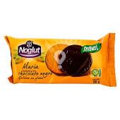 Galletas María bañadas de chocolate negro sin gluten