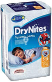 Calzoncillos de noche absorbentes para niños 16 a 23 kg