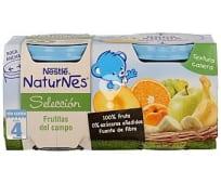 Tarrito de frutas del campo especial para bebés a partir de 4 meses