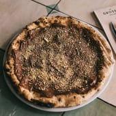 Ichi's Nutella Pizza.