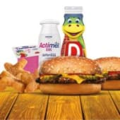 Menú Cool Kids Meal Cheeseburger