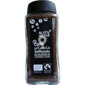 Café soluble liofoizado Comercio Justo