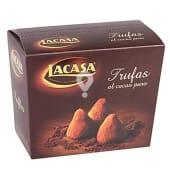Trufas de cacao puro