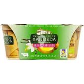 Yogur bífidus con mango y vainilla