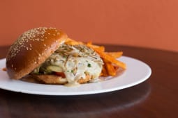 Ben'S Burger Cheese, Grilled Onions & Mushroom Sauce