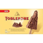 Bombón helado con cobertura crujiente sabor