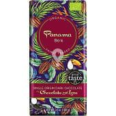 Chocolate negro Panamá 80% cacao