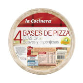 Base de pizza clásica