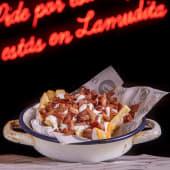 1/2 Ración bacon cheese fries