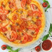 Піца Гостре м'ясо