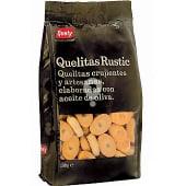 Mini galletas crujientes y artesanas elaboradas con aceite de oliva Quelitas Rustic