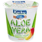 Yogur con trozos de aloe vera con sabor a mango