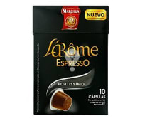 Café Fortissimo Cápsulas L'Arôme Espresso - Intensidad 10