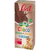 Bebida de avena con calcio sabor chocolate 100% vegetal sin lactosa