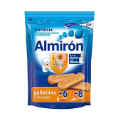 Galletitas con 6 cereales para bebés a partir de 6 meses en biberón y a partir de 8 meses entera