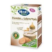 Papilla de cereales con galleta maría especial para bebés a partir de 6 meses