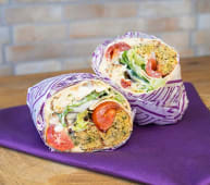 Falafel Roll Wrap