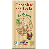 Chocolate con leche ecológico