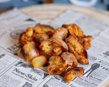 Ración extra patatas fritas