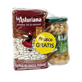 Pack alubia blanca + garbanzo cocido gratis