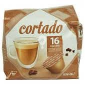 Cafe capsula cortado (compatible cafetera dolce gusto*(marca de grupo societe des produits nestle, sa. no relacionada con cocatech,sl.))