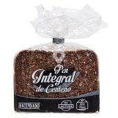 Pan molde integral de centeno