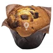 Muffin banana con trozos chocolate con leche horno (venta por unidades)