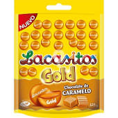 Gold chocolate de caramelo