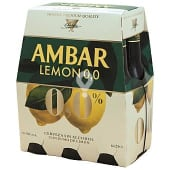 Cerveza sabor limón 0,0% alcohol
