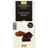 Chocolate negro 74% tableta 100 gr