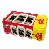 Cerveza Gallo 15 Pack Lata 12Oz