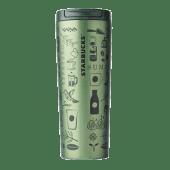 Kubek termiczny ze stali nierdzewnej zielony Anniversary 16oz