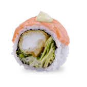 C6 SALMON TIGER ROLL 5szt