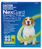 NEXGARD SPECTRA M - For Dogs from 7.6 to 15 kg; 1