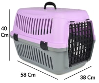 Pet Transportation Cage M 40-58-38cm