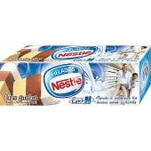 Bloque de helado tres gustos vainilla, chocolate y nata