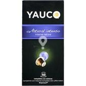 Café natural intenso ápsulas compatible con máquinas Nespresso estuche 50 g