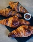 Croissants com nutella