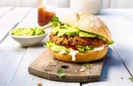 Mole burger VeganFrienldy