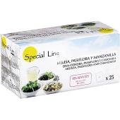 Infusión relajante de melisa pasiflora y manzanilla