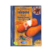 pimiento jalapeño relleno de queso crema