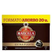 Café Extra Fuerte cápsulas intensidad 12 compatibles con cafeteras Nespresso