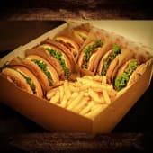 Burger box pentru 6 persoane