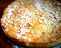 Tarta casera de almendra (sin gluten)