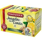 Infusión de jengibre al 51% con limón