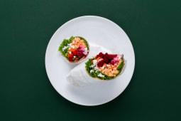 Salmon & Beetroot Wrap