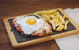 Milanesa Huevo Frito