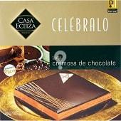 Tarta cremosa de chocolate