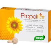 Miel própolis salvia tomillo erísimo y vitamina C defensas y vías respiratorias blister 35 comprimidos