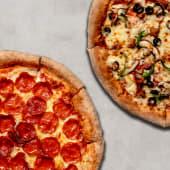 2 Pizzas Familiares Tradicionales